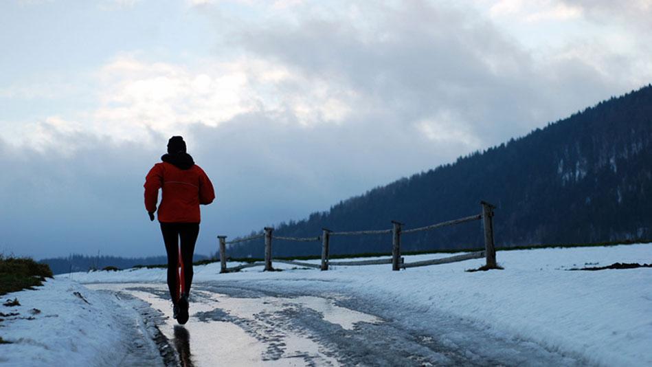 Bėgimas vėsiu oru